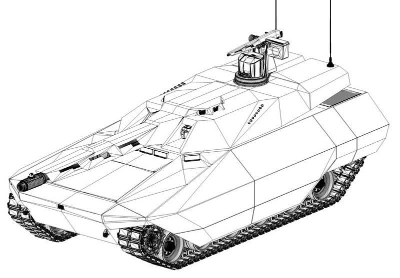 Armamento per il carro armato MGCS. Piani e proposte