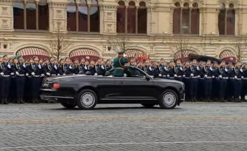 普京总统:我们的武装部队是胜利军的继承人