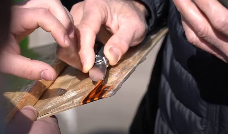 Zhytomyr police cut St. George ribbons from portraits of WWII veterans - liberators of the city from the Nazis