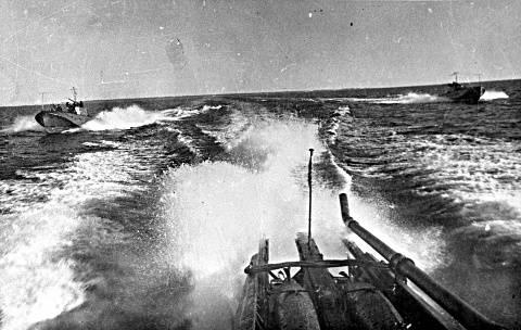 Angriff sowjetischer Torpedoboote