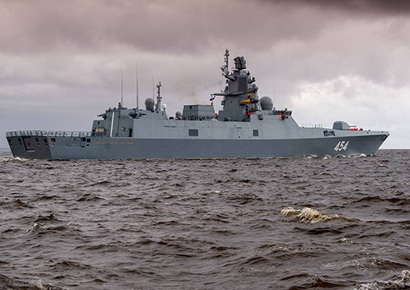 """""""Admiral Gorshkov"""" went to the White Sea for the final tests of the """"promising"""" missile"""