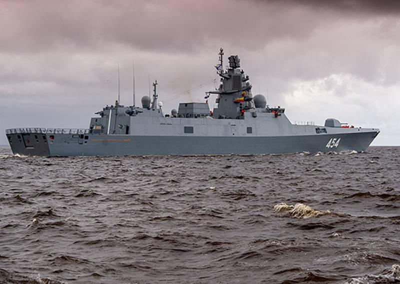 «Адмирал Горшков» направился в Белое море на завершающие испытания «перспективной» ракеты