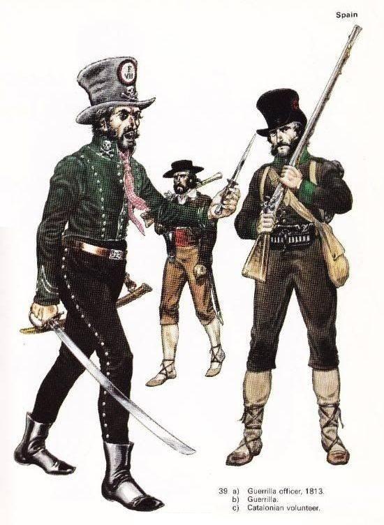 """Partisanos rusos en 1812. """"Destacamentos voladores"""" de tropas regulares"""