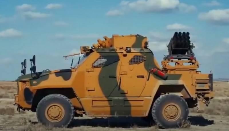 La Turquie a développé un nouveau mini-MLRS basé sur MRAP Vuran
