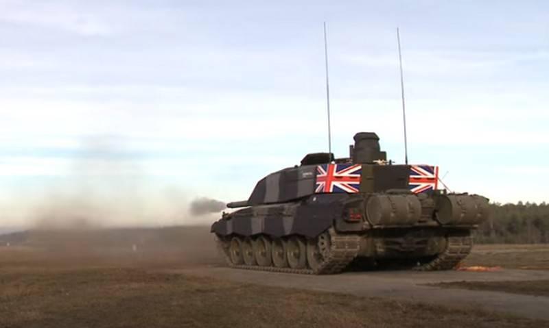 «Поведёт бронетанковые силы НАТО»: место нового британского ОБТ на поле боя