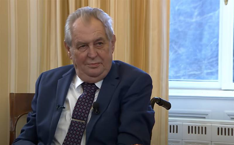 Milos Zeman: Warehouses in Vrbetica could explode due to an attempt to hide the lack of ammunition