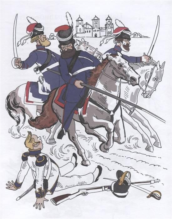 Partigiani russi nel 1812. I. Dorokhov, D. Davydov, V. Dibich