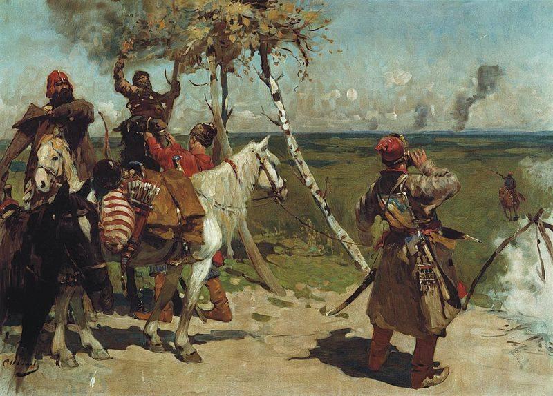 Guerre entre Moscou et Kazan Khan Safa-Girey