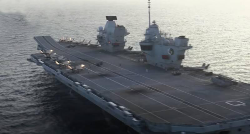 İngiliz basını: Rus casus gemisi, uçak gemisi HMS Queen Elizabeth'in peşinde
