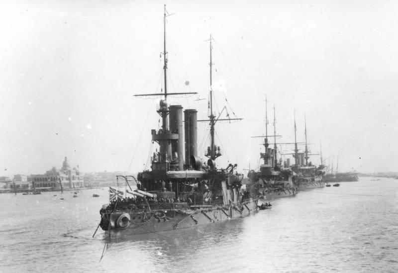 Le procès dans l'affaire du contre-amiral Nebogatov