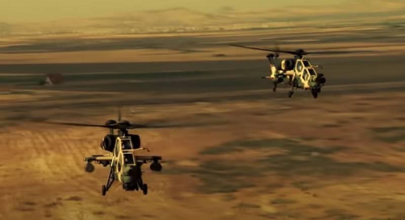 """""""直升机的成本低于类似产品"""":土耳其计算出T129 ATAK的价格"""