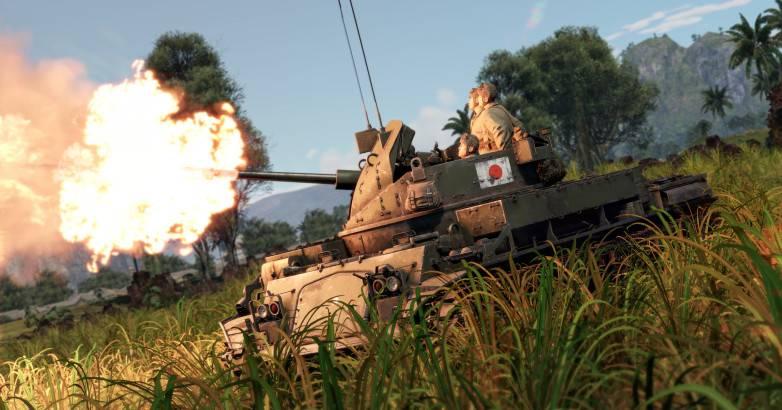 일본 전후 대공 기관총 및 포병 탈것