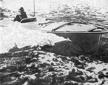 Боевые пловцы кригсмарине: дистанционно управляемые катера