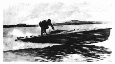 Nadadores de combate Kriegsmarine: barcos com controle remoto