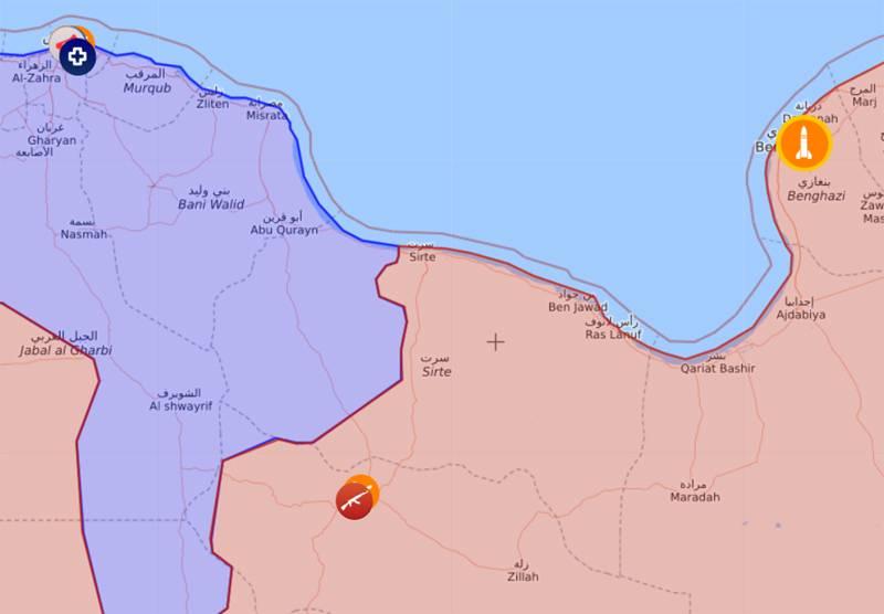 लीबिया में फिल्माया गया बेहद कम ऊंचाई पर एमआई -24 हमले के हेलीकॉप्टर की उड़ान