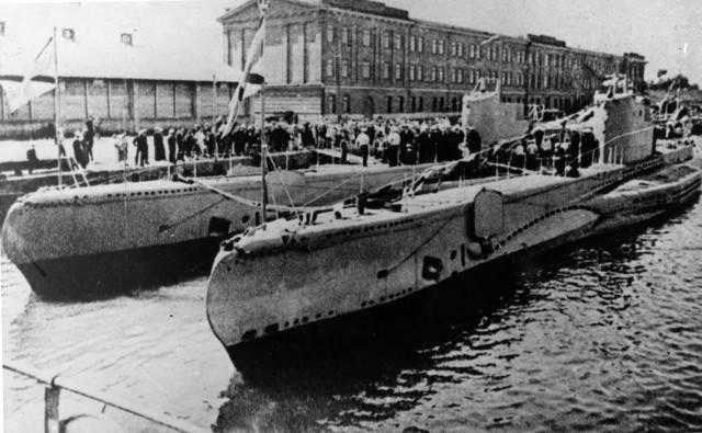 Начало подводной войны на Балтике