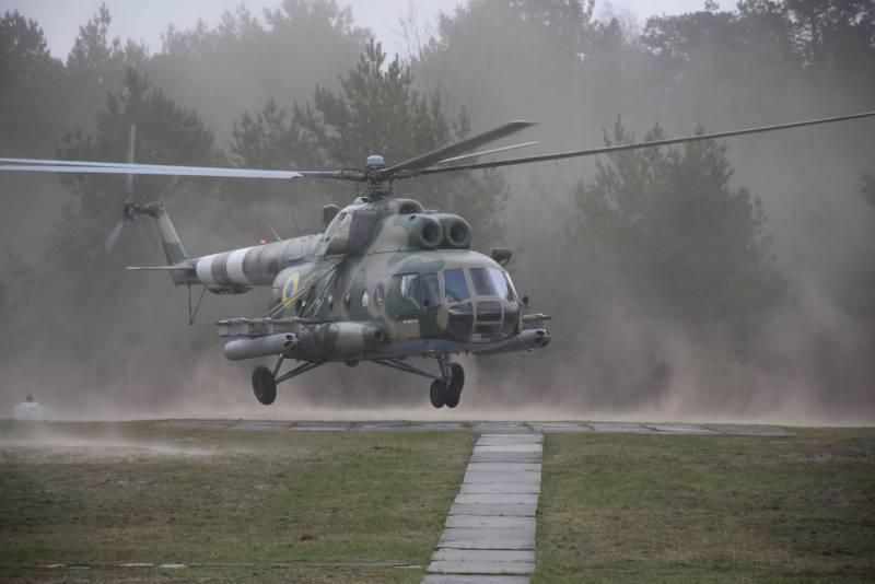 Ми-8 стал летающей ракетной батареей: на Украине модернизировали транспортный вертолёт