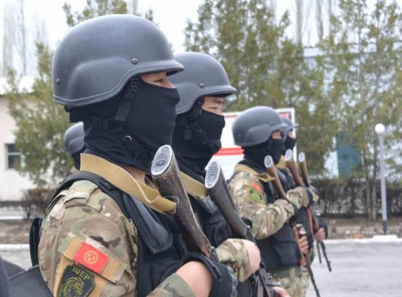 МВД Киргизии: В операции на границе с Таджикистаном участвовал отряд спецназа Внутренних войск «ШЕР»