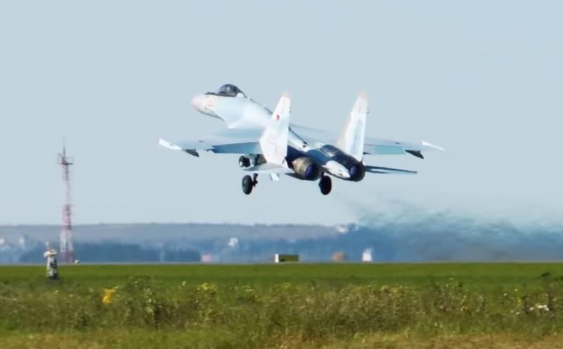 Южный военный округ усилят многоцелевыми истребителями Су-35С
