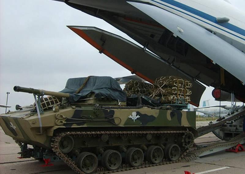 Российский десант получит на вооружение новые парашютные системы