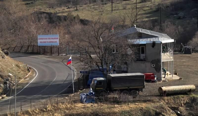 Два опорных пункта российской военной базы создано на юге Армении