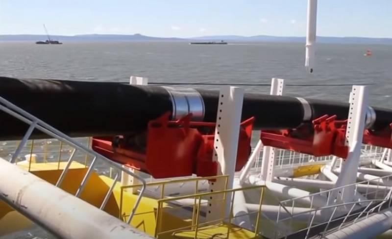 Иск немецких экологов приостановил укладку газопровода «Северный поток - 2»