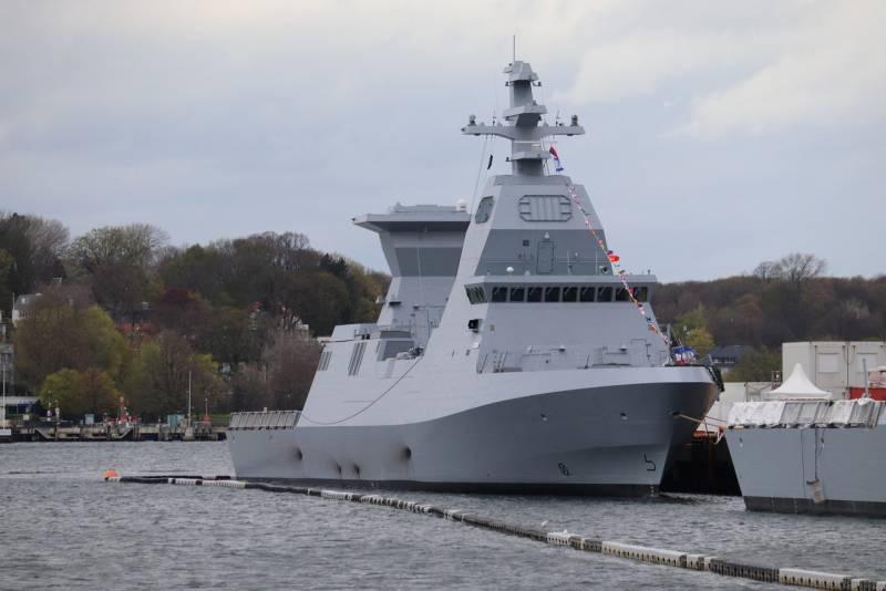 Израильский флот пополнился вторым корветом проекта Saar 6