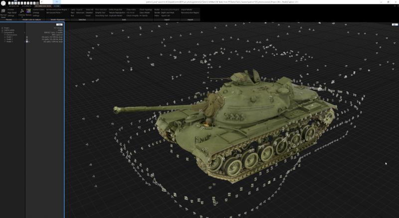 Мы стараемся передать характер танков времен Второй мировой войны с помощью фотограмметрии