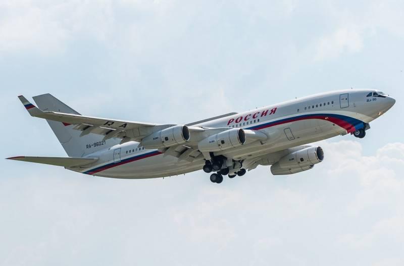 Генштаб ВС Эстонии обвинил российский Ил-96 в нарушении воздушного пространства страны
