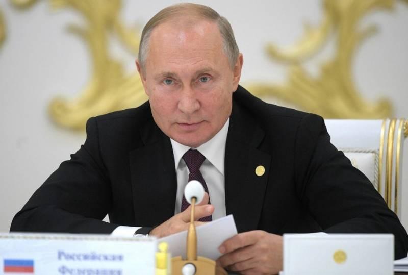 Путин поздравил с Днем Победы народы Грузии и Украины, проигнорировав глав этих стран