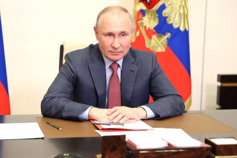 Путин: Москва отреагирует на преследование на Украине симпатизирующих России политических сил