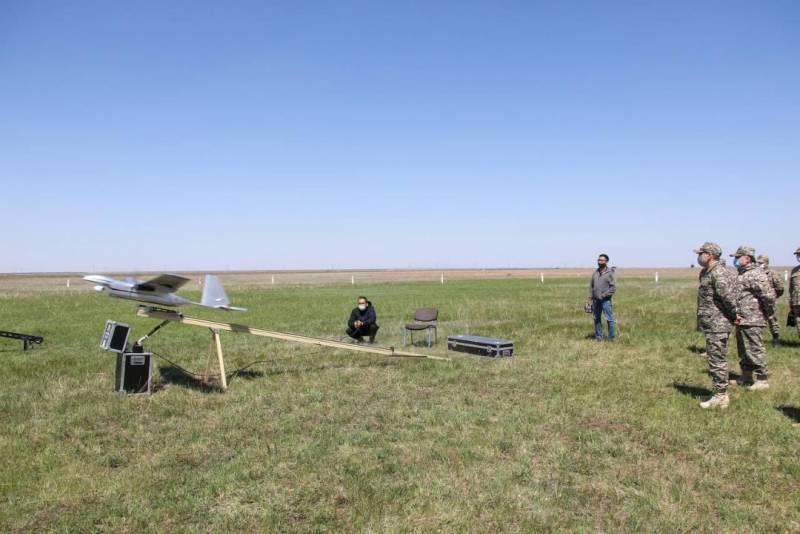 Созданный в Казахстане БПЛА «Шагала» находится на заключительной стадии испытаний