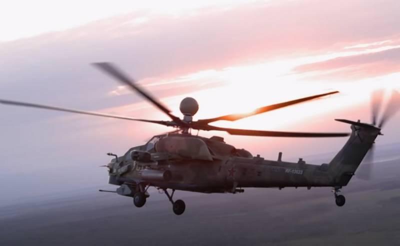Ми-28НМ «Ночной охотник» получил новое ракетное вооружение