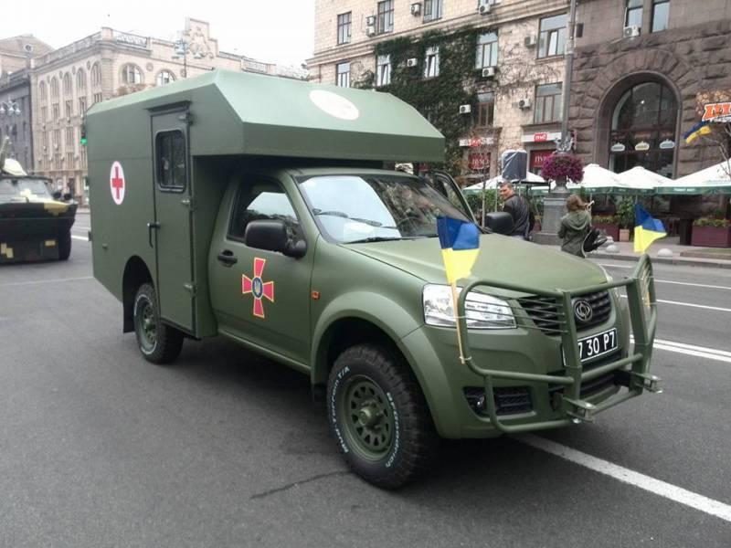 Санитарные проблемы украинской армии: «Богдан-2251»