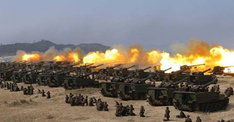 Средство неядерного сдерживания: ракетные войска и артиллерия КНДР