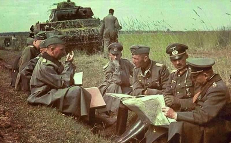 Разведки о немецких войсках у нашей границы