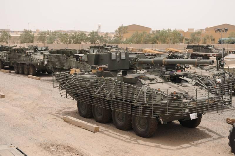 Два десятилетия преимуществ и проблем. Армия США отказывается от колесного танка M1128
