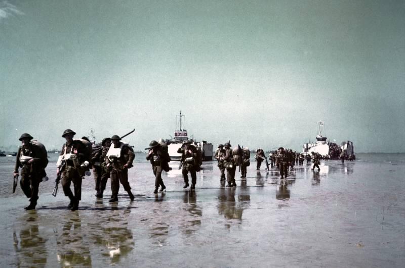 Боевые пловцы кригсмарине: высадка в Нормандии