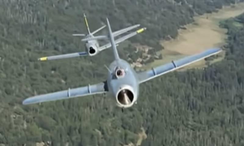 Советские истребители МиГ-15 против F-86 Sabre: спасительные антирадары