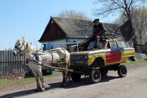 Zaporozhets y caballo