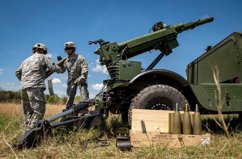 Американская армия оценит новую гаубицу на базе Humvee
