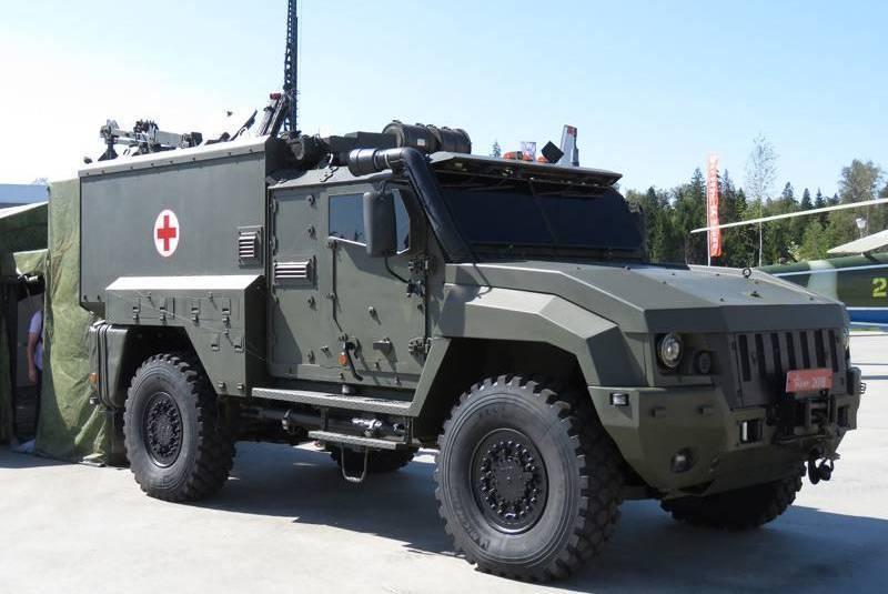 Минобороны начало массовую закупку санитарных бронеавтомобилей «Линза»