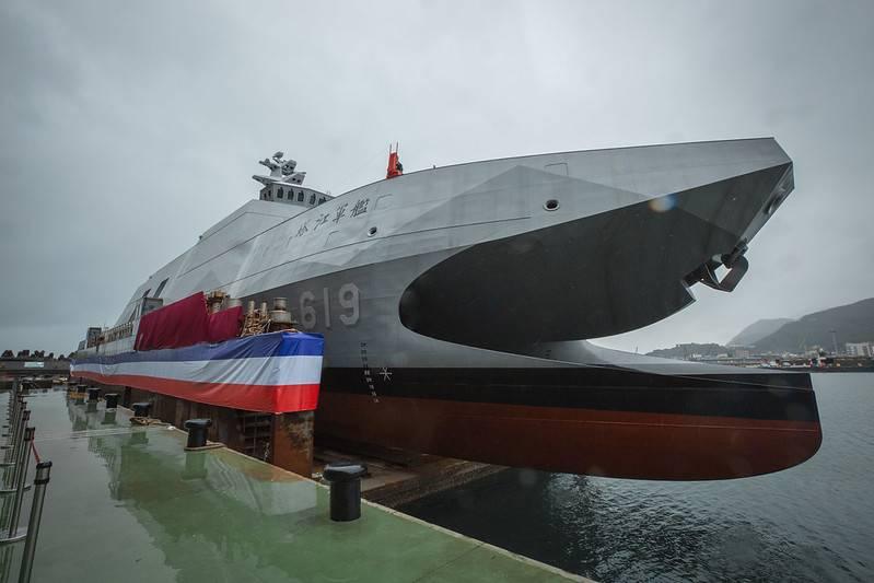 Tayvan Donanmasının yeni korvetinde kendi üretimi olan gemi tabanlı uçaksavar füzeleri bulunacak.