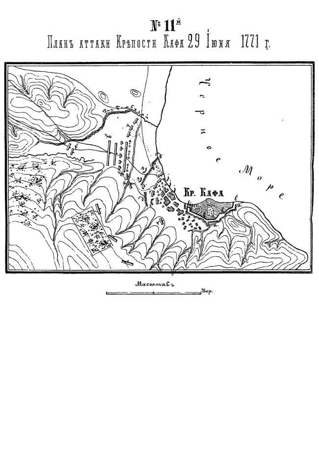 Разгром Крымской орды: штурм Арабата и Кафы
