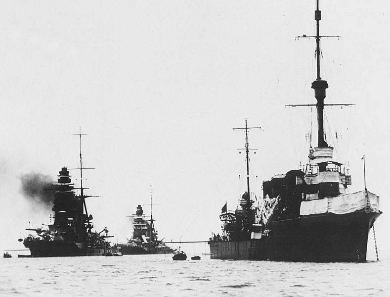 Боевые корабли. Крейсера. Все началось не с сакуры