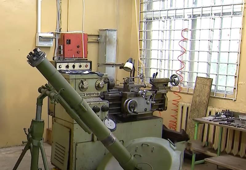 Украина хочет добиться производства миномётов «Молот» в Восточной Европе
