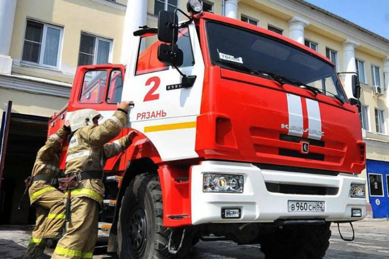 Пожар в клинике Рязани, есть погибшие