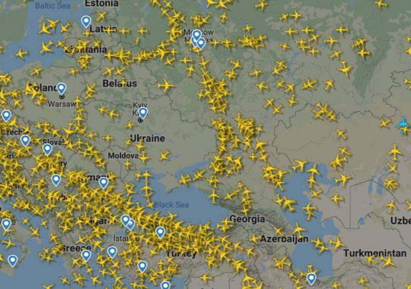 Воздушное пространство Белоруссии не стало «белым