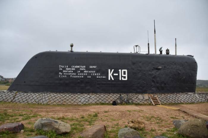 第一次的时间。 苏联的核潜艇