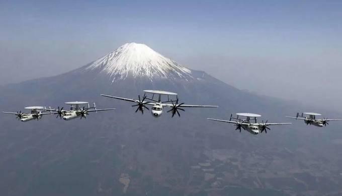 आधुनिक जापानी रडार हवाई क्षेत्र नियंत्रण और जापान की वायु रक्षा नियंत्रण प्रणाली